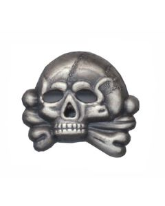 GERMAN SS HAT SKULL Early Version