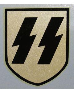 GERMAN SS HELMET DECAL 2ND PATTERN