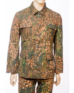 GERMAN SS M-44 DOT PATTERN CAMOUFLAGE DRILL TUNIC & PANTS SET