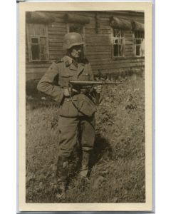 GERMAN SS OFFICER WWII PHOTOGRAPH