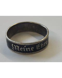 """GERMAN SS RING """"MEINE EHRE HEISST TREUE"""""""