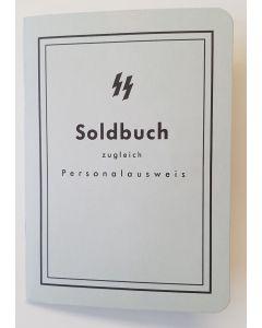 GERMAN SS SOLDBUCH - BLANK