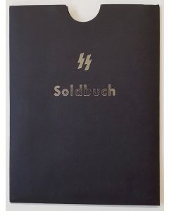 GERMAN SS SOLDBUCH COVER BLACK