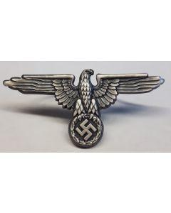 GERMAN SS VISOR CAP EAGLE - ANTIQUE