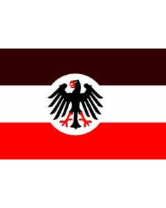 GERMAN STATE FLAG AND ENSIGN 1933-1935 Reichsdienstflagee Poly