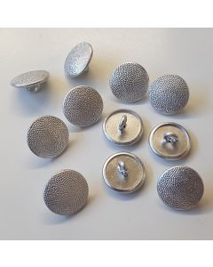 GERMAN TUNIC BUTTONS SILVER SET OF 11