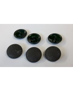 GERMAN TUNIC PEBBLED BUTTONS GREEN  WW2