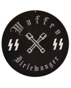 GERMAN WAFFEN SS DIRLEWANGER SIGN