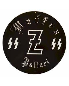 GERMAN WAFFEN SS ERSTE POLIZEI SIGN