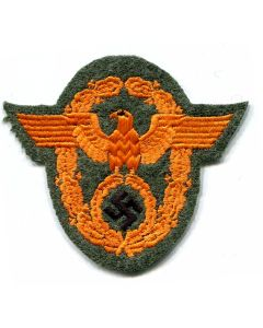 GERMAN WAFFEN SS FELDGENDARMARIE POLICE SLEEVE EAGLE