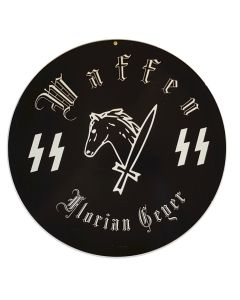 GERMAN WAFFEN SS FLORIAN GEYER SIGN