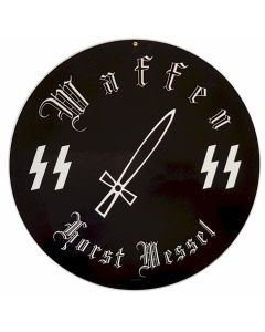 GERMAN WAFFEN SS HORST WESSEL METAL SIGN