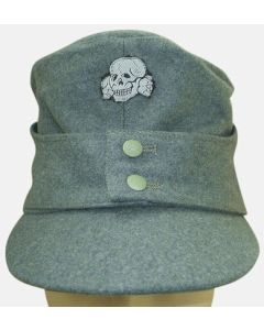 GERMAN WAFFEN SS M-43 CAP Field Grey