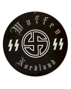 GERMAN WAFFEN SS NORDLAND SIGN