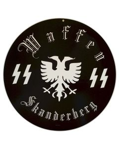 GERMAN WAFFEN SS SKANDERBERG SIGN