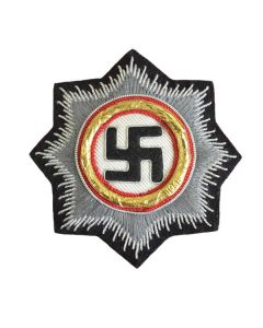 GERMAN WAR ORDER OF THE GERMAN CROSS IN GOLD - Panzer