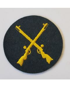 GERMAN WEHRMACHT HEER ORDNANCE/WAFFENFELDWEBEL TRADE ARM PATCH
