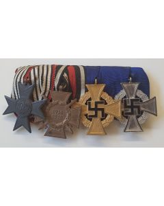 GERMAN WW1 MERIT CROSS FOR WAR AID MEDAL BAR