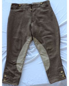 WW1 BRITISH DISPATCH RIDER OR ROYAL FLYING CORP PANTALOONS