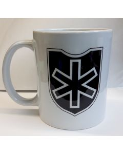 """GERMAN WW2 6th SS MOUNTAIN DIVISION """"NORD""""  COFFEE CUP"""