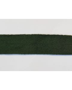 GERMAN WW2 COTTON TWILL CLOTH SEAM TAPE DARK GREEN