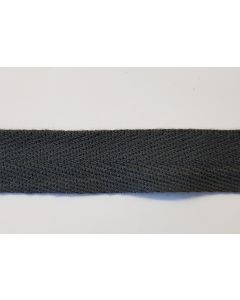 GERMAN WW2 COTTON TWILL CLOTH SEAM TAPE GREY / BLUE