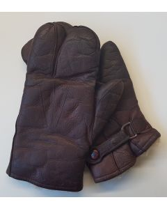 GERMAN WW2 LUFTWAFFE FLIEGERHANDSCHUHE LEDER - LEATHER PILOT GLOVES