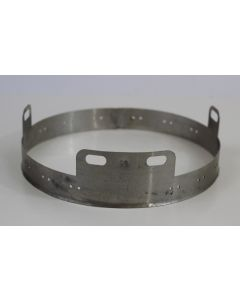 GERMAN WW2 M38 ALUMINIUM LINER BAND FOR FALLSCHIRMJAGER HELMET