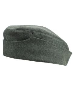 GERMAN WW2 M38 SIDE CAP  FIELD GREY WOOL