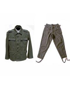 GERMAN M43 WOOL TUNIC AND PANTS