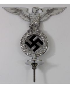 GERMAN WW2 NSDAP PARTY FLAG POLE TOP