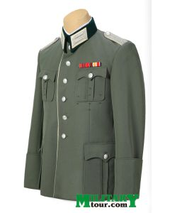 GERMAN WW2 OFFICER WALKING OUT TUNIC -6 Button