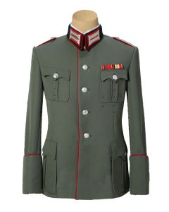 GERMAN WW2 OFFICER WALKING OUT TUNIC -5 Button