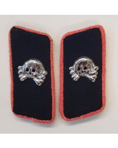 GERMAN WW2 PANZER COLLAR TABS