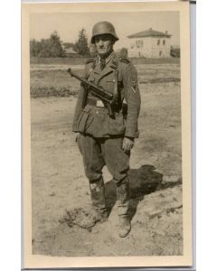 GERMAN WW2 SS OFFICER PHOTOGRAPH