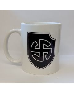 GERMAN WW2 WAFFEN-SS 5th PANZER DIVISION  WIKING COFFEE CUP