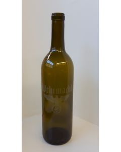 GERMAN WW2 WEHRMACHT WINE BOTTLE
