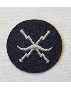 GERMAN WWII LUFTWAFFE AIR RAID AIRCRAFT WARNING SERVICE TRADE PATCH