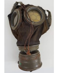 GERMAN WWI MODEL 17 GAS MASK AND FILTER