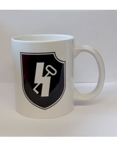 GERMAN WWII 12TH SS PANZER DIVISION  HITLERJUGEND COFFEE CUP