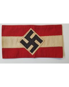 GERMAN WWII HITLER YOUTH ARMBAND