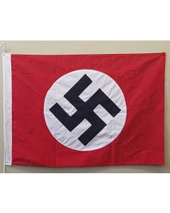GERMAN WWII NAZI PARTY FLAG COTTON 2 X 3