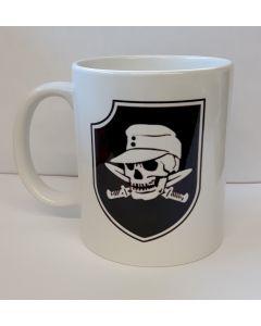 GERMAN WW2  WAFFEN SS TOTENKOPF DIVISION COFFEE MUG