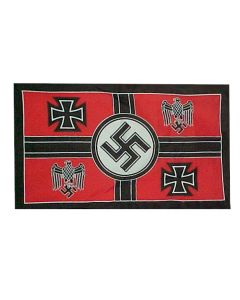 GERMANY NAZI COMMANDER HEADQUARTERS FLAG