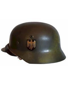 M35 HEER SINGLE DECAL CAMO WW2 GERMAN COMBAT HELMET