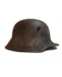 GERMAN WWi M1916 CAMO HELMET