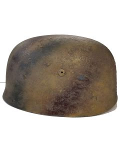 M1938 GERMAN WW2 PARATROOPER HELMET NORMANDY CAMO