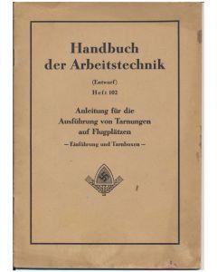 HANDBUCH DER ARBEITSTECHNIK