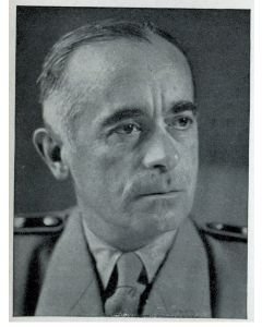 HANS VON TLCHAMMER UND OFTERN, REICHSFORTFUHRER LEIT 19. JULI 1933