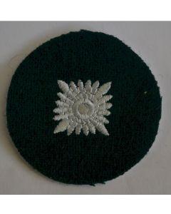 GERMAN OBERSCHUTZE RANK PIP IN BOTTLE GREEN CLOTH